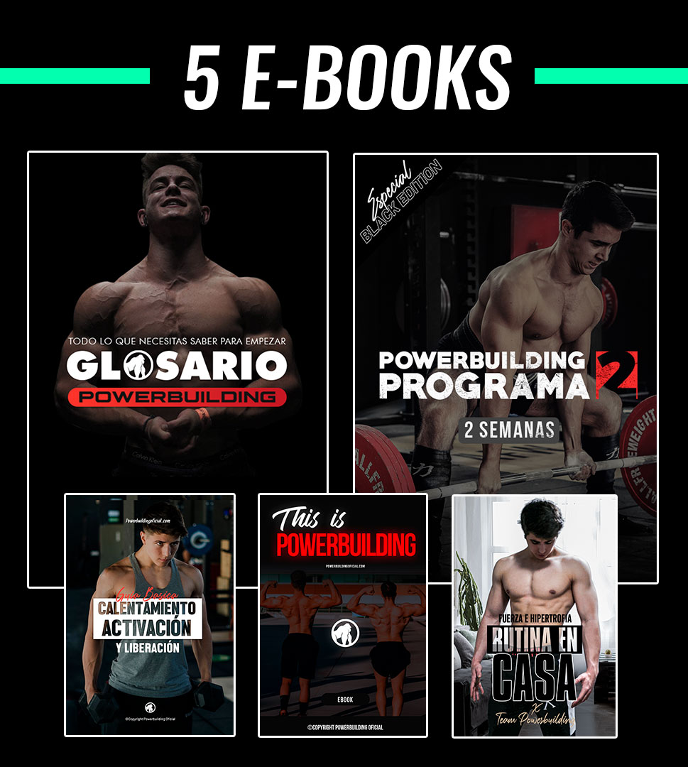 PACK Ebooks Powerbuilding + Rutina en casa
